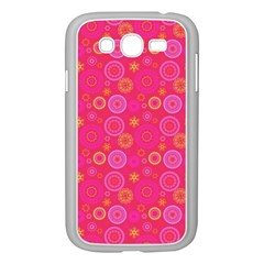 Psychedelic Kaleidoscope Samsung Galaxy Grand Duos I9082 Case (white) by StuffOrSomething