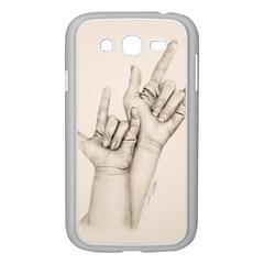 I Love You Samsung Galaxy Grand Duos I9082 Case (white) by TonyaButcher