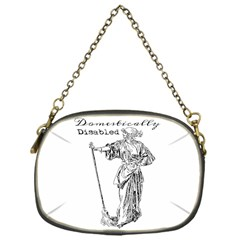 Domestically Disabled Chain Purse (one Side) by StuffOrSomething