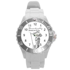 Domestically Disabled Plastic Sport Watch (large) by StuffOrSomething