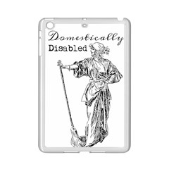 Domestically Disabled Apple iPad Mini 2 Case (White) by StuffOrSomething