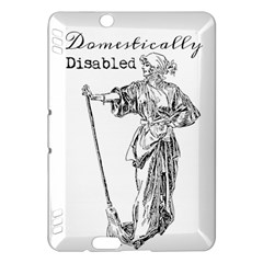 Domestically Disabled Kindle Fire Hdx 7  Hardshell Case by StuffOrSomething
