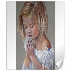 Prayinggirl Canvas 20  X 24  (unframed) by TonyaButcher