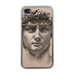 David Apple Iphone 4 Case (clear) by TonyaButcher