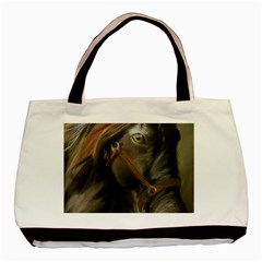 Storm Twin Sided Black Tote Bag
