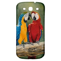 Feathered Friends Samsung Galaxy S3 S Iii Classic Hardshell Back Case by TonyaButcher