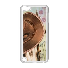 Hat On The Fence Apple Ipod Touch 5 Case (white) by TonyaButcher