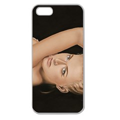 Alluring Apple Seamless Iphone 5 Case (clear) by TonyaButcher