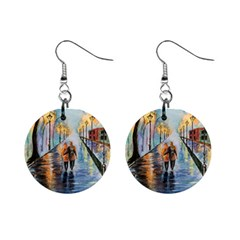 Just The Two Of Us Mini Button Earrings