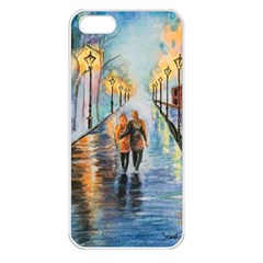 Just The Two Of Us Apple Iphone 5 Seamless Case (white) by TonyaButcher