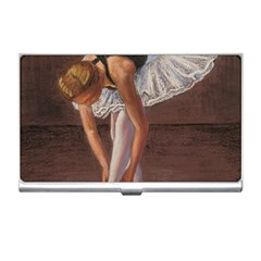 Ballerina Business Card Holder by TonyaButcher