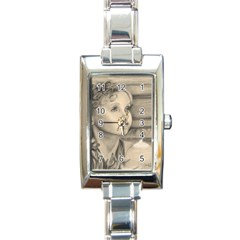 Light1 Rectangular Italian Charm Watch by TonyaButcher