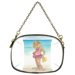 Beach Play Sm Chain Purse (one Side) by TonyaButcher