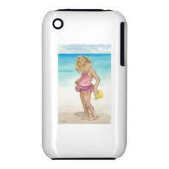 Beach Play Sm Apple Iphone 3g/3gs Hardshell Case (pc+silicone) by TonyaButcher