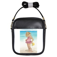 Beach Play Sm Girl s Sling Bag by TonyaButcher