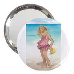 Beach Play Sm 3  Handbag Mirror by TonyaButcher