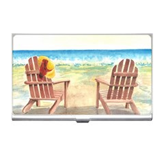 Time To Relax Business Card Holder by TonyaButcher