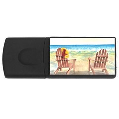 Time To Relax 4gb Usb Flash Drive (rectangle) by TonyaButcher