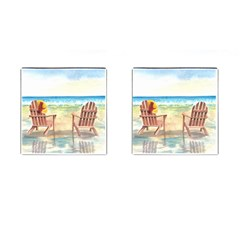 Time To Relax Cufflinks (square) by TonyaButcher