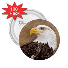 Eagle 2 25  Button (100 Pack) by TonyaButcher