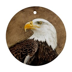 Eagle Round Ornament (Two Sides) by TonyaButcher