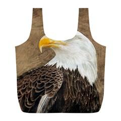 Eagle Reusable Bag (l) by TonyaButcher