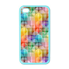 Circles Apple Iphone 4 Case (color) by Lalita