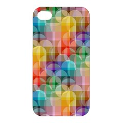 Circles Apple Iphone 4/4s Hardshell Case by Lalita