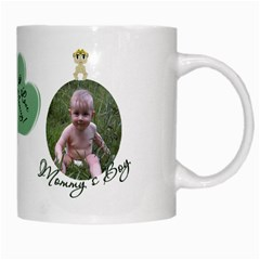 Mommy s Boy White Mug By Chere s Creations   White Mug   4ky00zak6ege   Www Artscow Com Right
