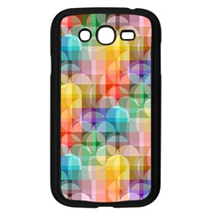 Circles Samsung Galaxy Grand Duos I9082 Case (black) by Lalita
