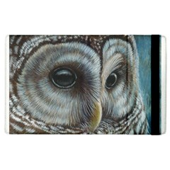 Barred Owl Apple Ipad 3/4 Flip Case by TonyaButcher