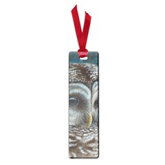 Barred Owl Small Bookmark by TonyaButcher