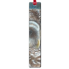 Barred Owl Large Bookmark by TonyaButcher