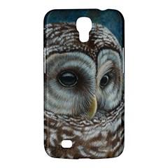 Barred Owl Samsung Galaxy Mega 6 3  I9200 Hardshell Case by TonyaButcher