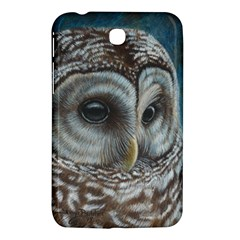 Barred Owl Samsung Galaxy Tab 3 (7 ) P3200 Hardshell Case  by TonyaButcher