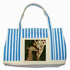 A Mother s Love Blue Striped Tote Bag by TonyaButcher