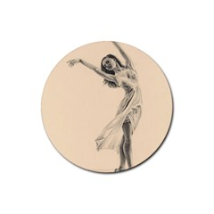 Graceful Dancer Drink Coasters 4 Pack (round) by TonyaButcher
