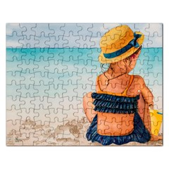 A Day At The Beach Jigsaw Puzzle (rectangle) by TonyaButcher