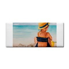 A Day At The Beach Hand Towel by TonyaButcher