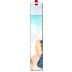 A Day At The Beach Large Bookmark by TonyaButcher