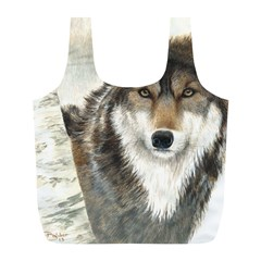 Hunter Reusable Bag (l) by TonyaButcher