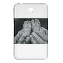 John 3:16 Samsung Galaxy Tab 3 (7 ) P3200 Hardshell Case  by TonyaButcher