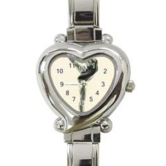 Attitude Heart Italian Charm Watch  by TonyaButcher