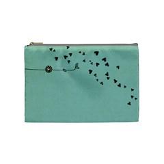 Cosmetic Bag Medium By Deca   Cosmetic Bag (medium)   Dh5jf1nx85zb   Www Artscow Com Front