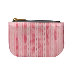 Pink Grunge Coin Change Purse by StuffOrSomething