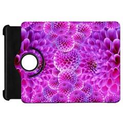 Purple Dahlias Kindle Fire Hd 7  (1st Gen) Flip 360 Case by FunWithFibro