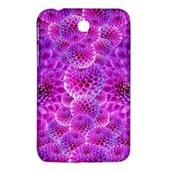 Purple Dahlias Samsung Galaxy Tab 3 (7 ) P3200 Hardshell Case  by FunWithFibro