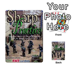 Sharp Practice By Steve Burt   Multi Purpose Cards (rectangle)   1imdvo3bc26s   Www Artscow Com Back 8