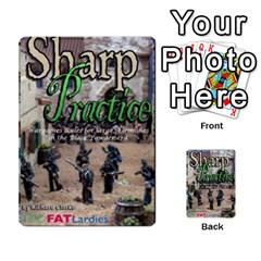 Sharp Practice By Steve Burt   Multi Purpose Cards (rectangle)   1imdvo3bc26s   Www Artscow Com Back 23