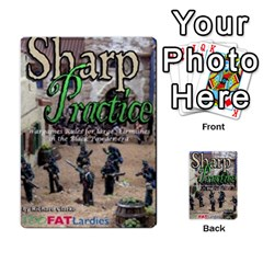 Sharp Practice By Steve Burt   Multi Purpose Cards (rectangle)   1imdvo3bc26s   Www Artscow Com Back 49